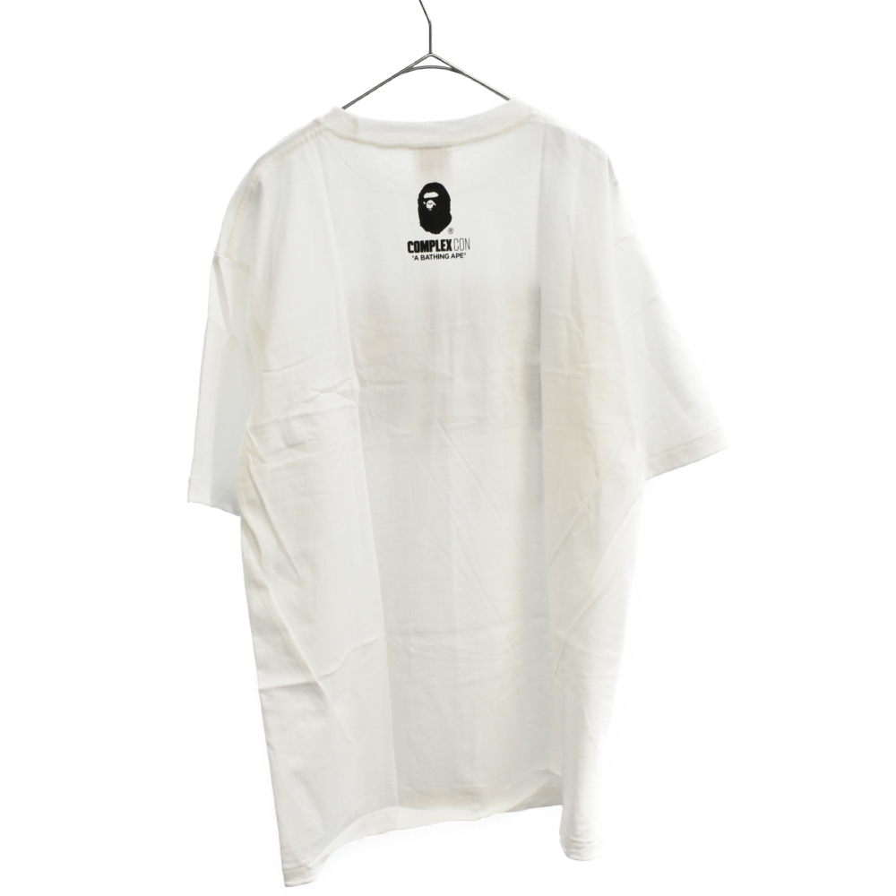 ×COMPLEX CON コンプレックスコン フェイスロゴプリントTシャツ