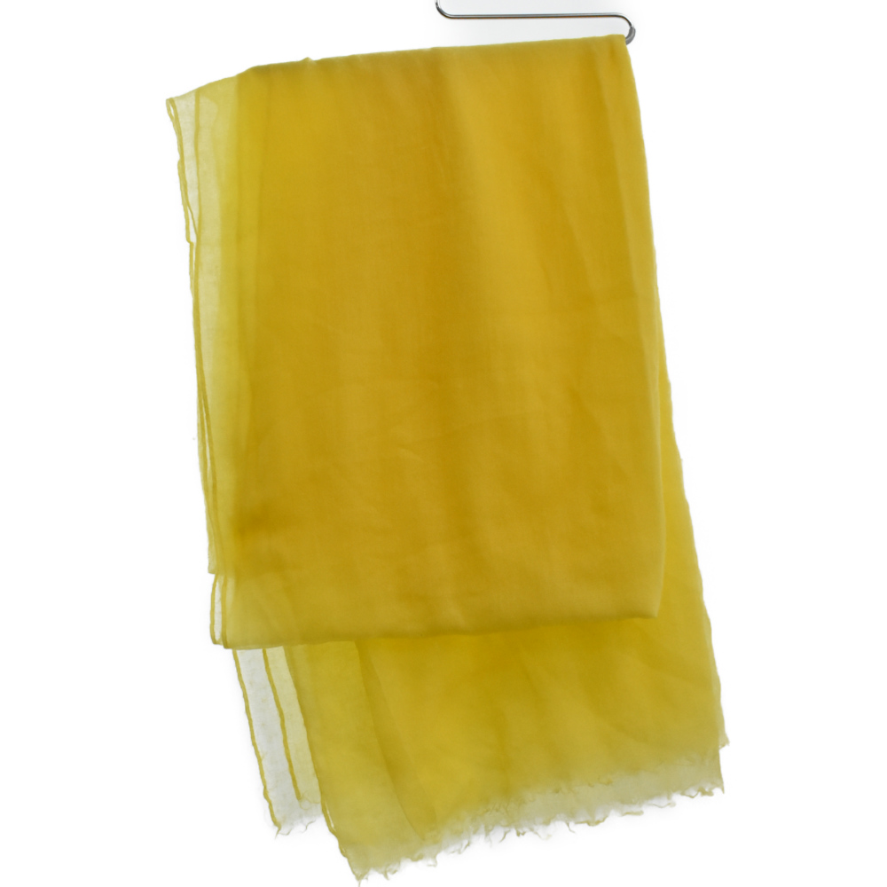 ロゴ刺繍大判ストール スカーフ