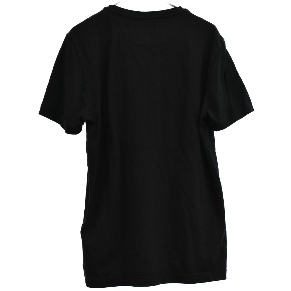 モンスター ロゴパッチスワロフスキースタッズ半袖Tシャツ