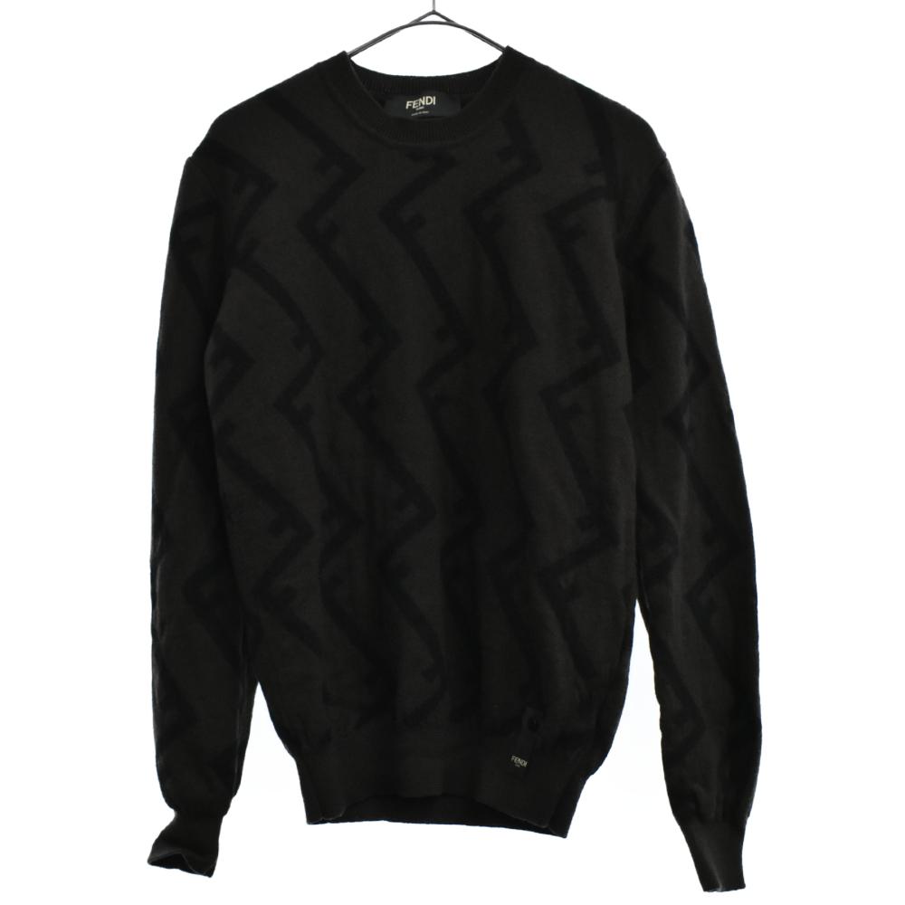 ズッカ柄ニットセーター