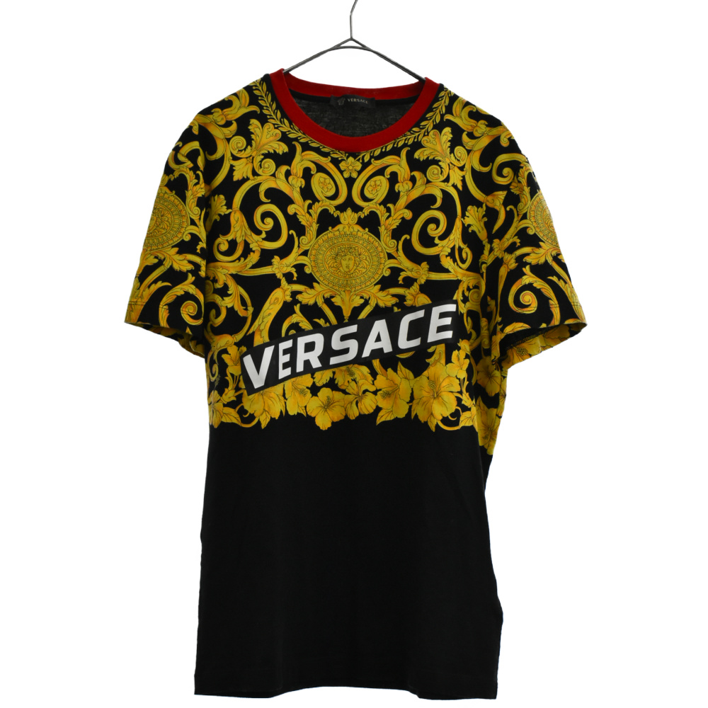 メデューサロゴプリント半袖Tシャツ