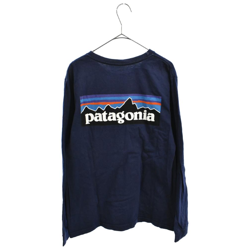 Long Sleeved P-6 Logo Responsibili P-6ロゴレスポンシビリティー長袖Tシャツ