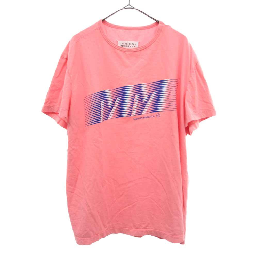 グラフィックMMロゴクルーネック半袖Tシャツ