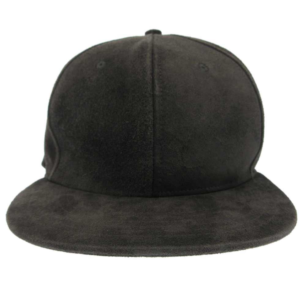 6th Collection Hat 6F19-0001 シックスコレクションスウェード6パネルベースボールキャップ ハット