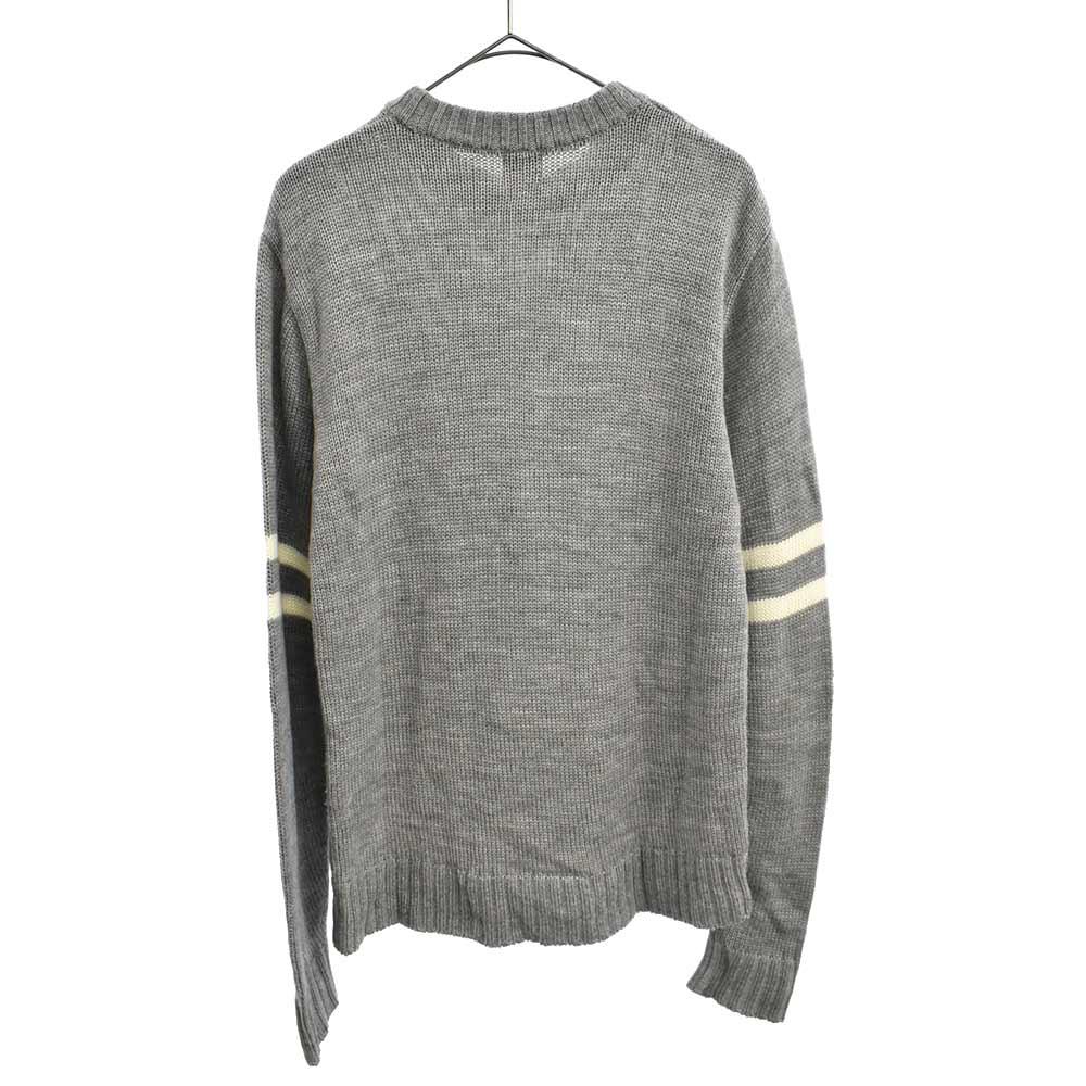 U.S.S 刺繍クルーネックニットセーター