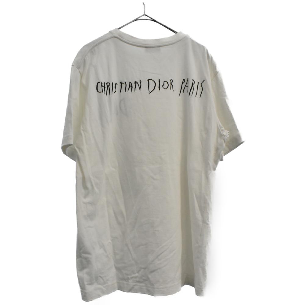 RAYMOND PETTIBON レイモンドペティボーン刺繍クルーネック半袖Tシャツ