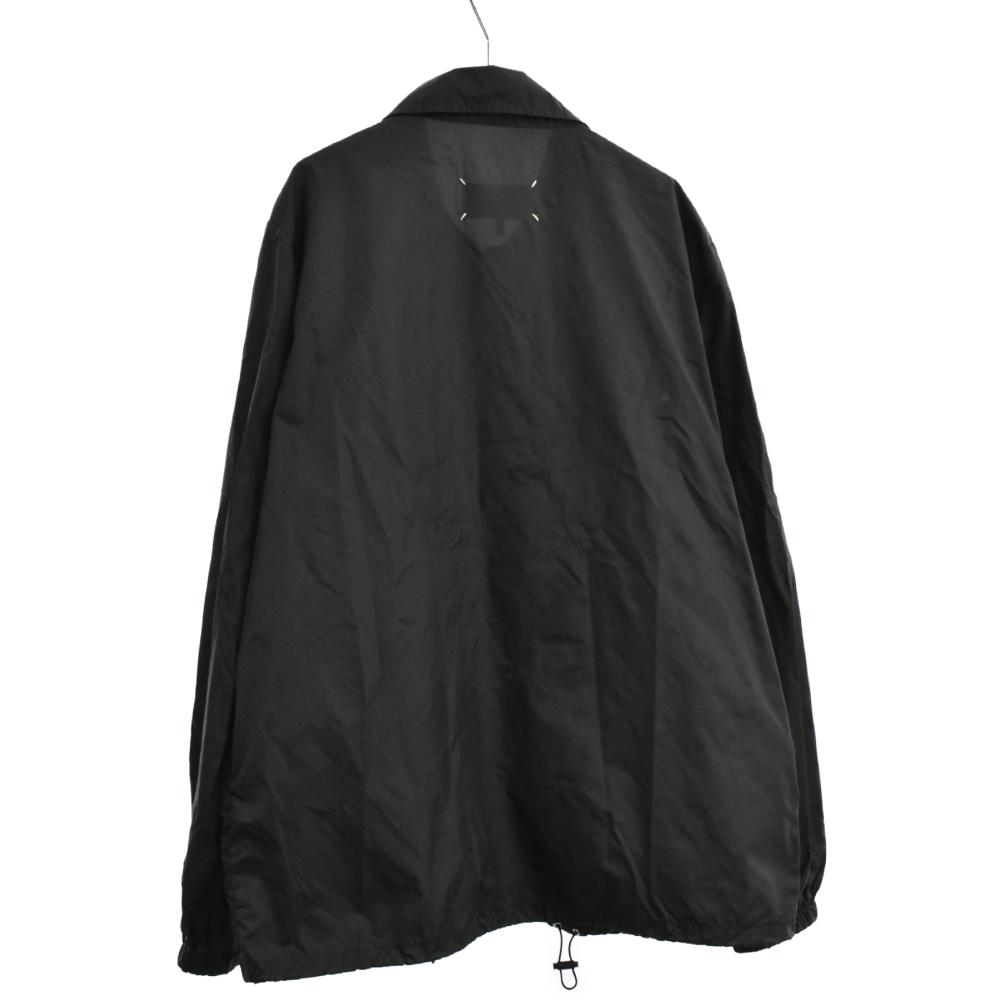 インボイスプリントナイロンコーチジャケット