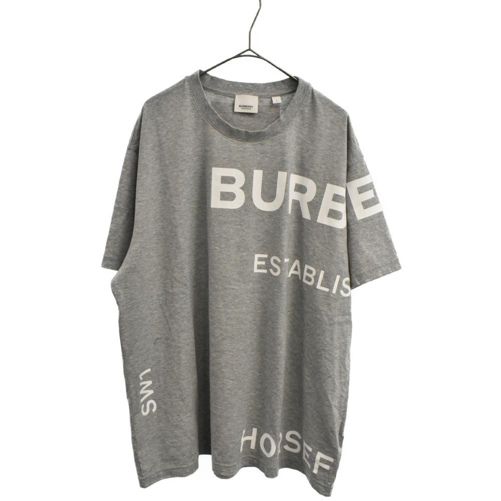 Horseferry ビッグロゴプリント半袖Tシャツ