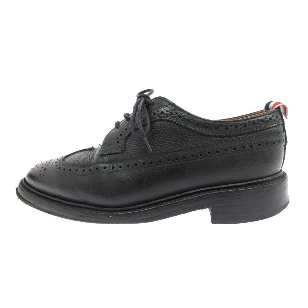クラシックロンレザーウィングチップ シューズ 靴