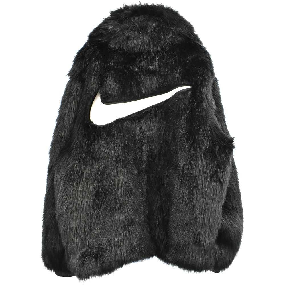 ×AMBUSH アンブッシュ Reversible Faux Fur Coatバックロゴ刺繍ファージャケット