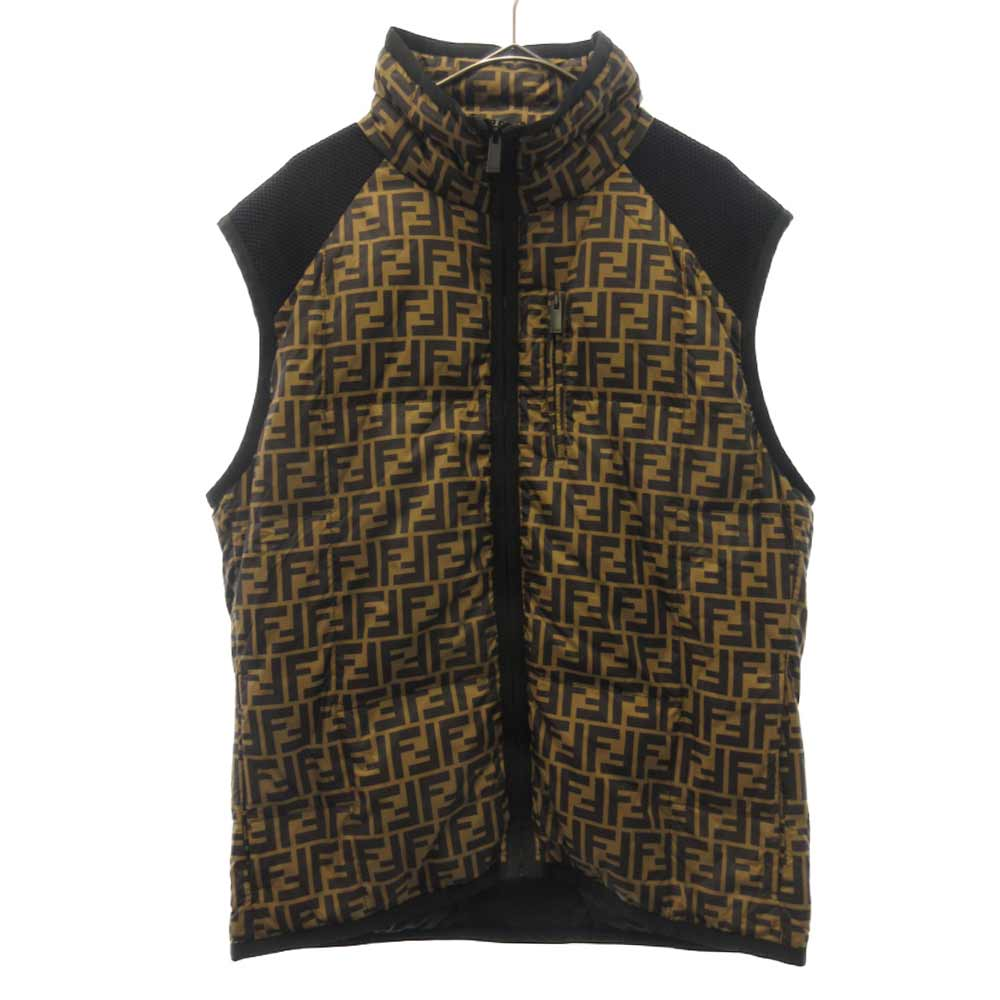 ZIPPED FF BACK NET JERSEY PADDED VEST FFロゴパデッドジレ