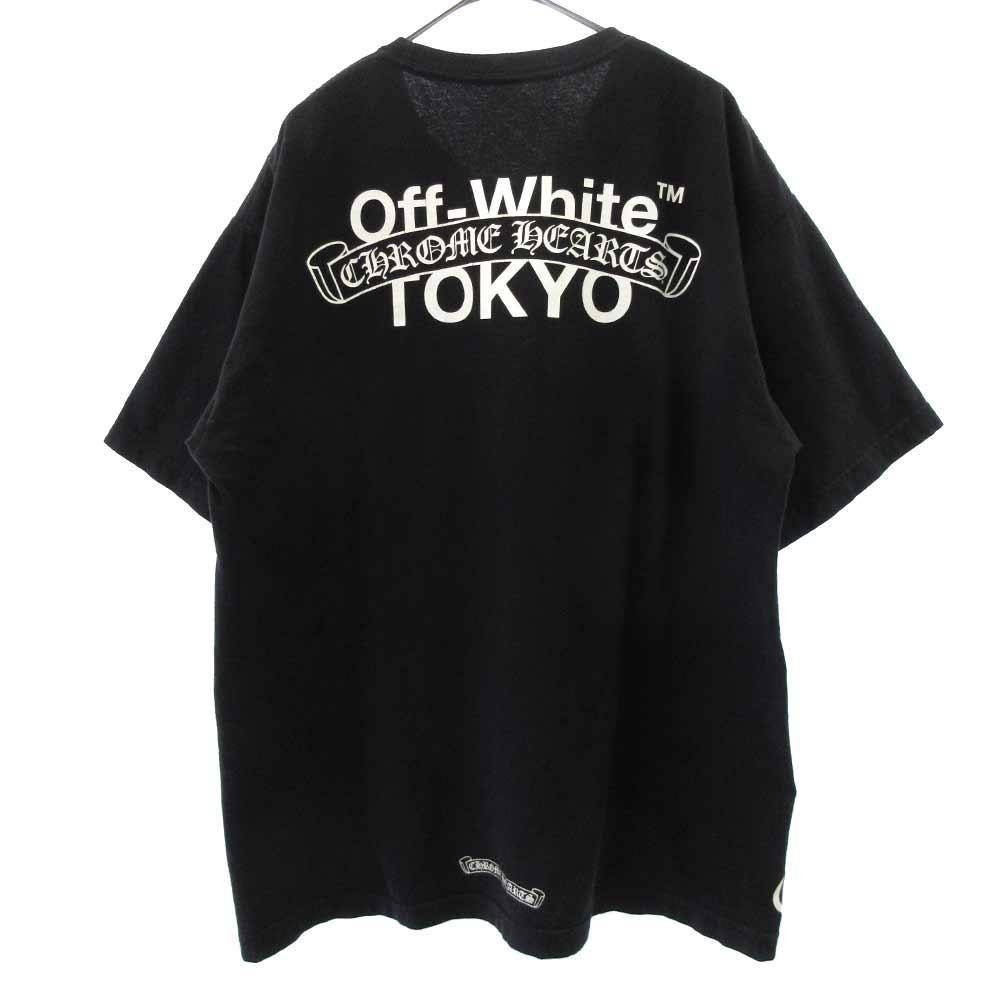 ×OFF-WHITE 東京限定 バックプリント半袖Tシャツ