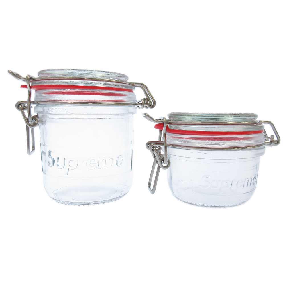 Jar Set メイソンジャー2個セット クリア 瓶/グラス