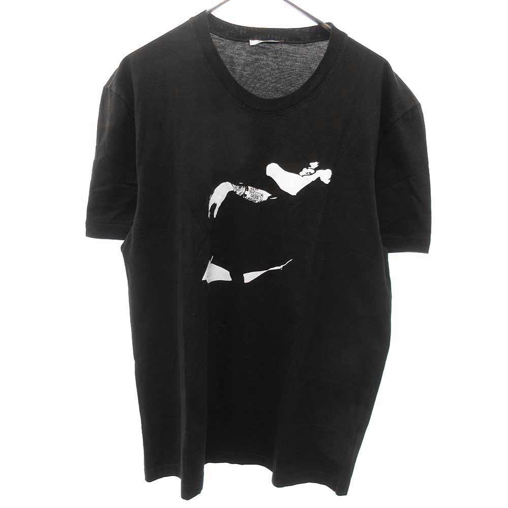 アームプリント半袖Tシャツ半袖Tシャツ