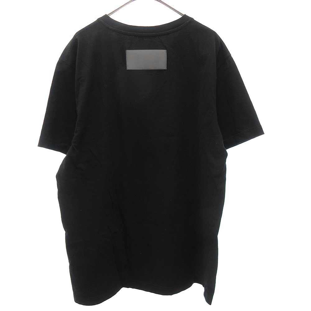 NASA REG T-SHIRT SS MANUAL BLACK WHITE NASAプリント半袖Tシャツ