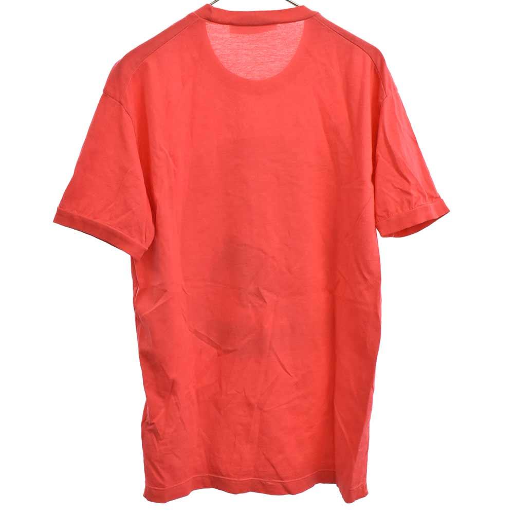 擦れプリント半袖Tシャツ