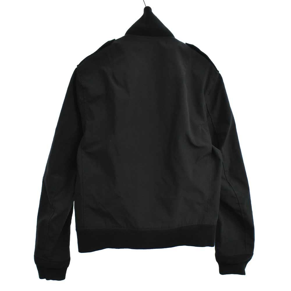 スタンドカラーリブ付きフルジップアップジャケット