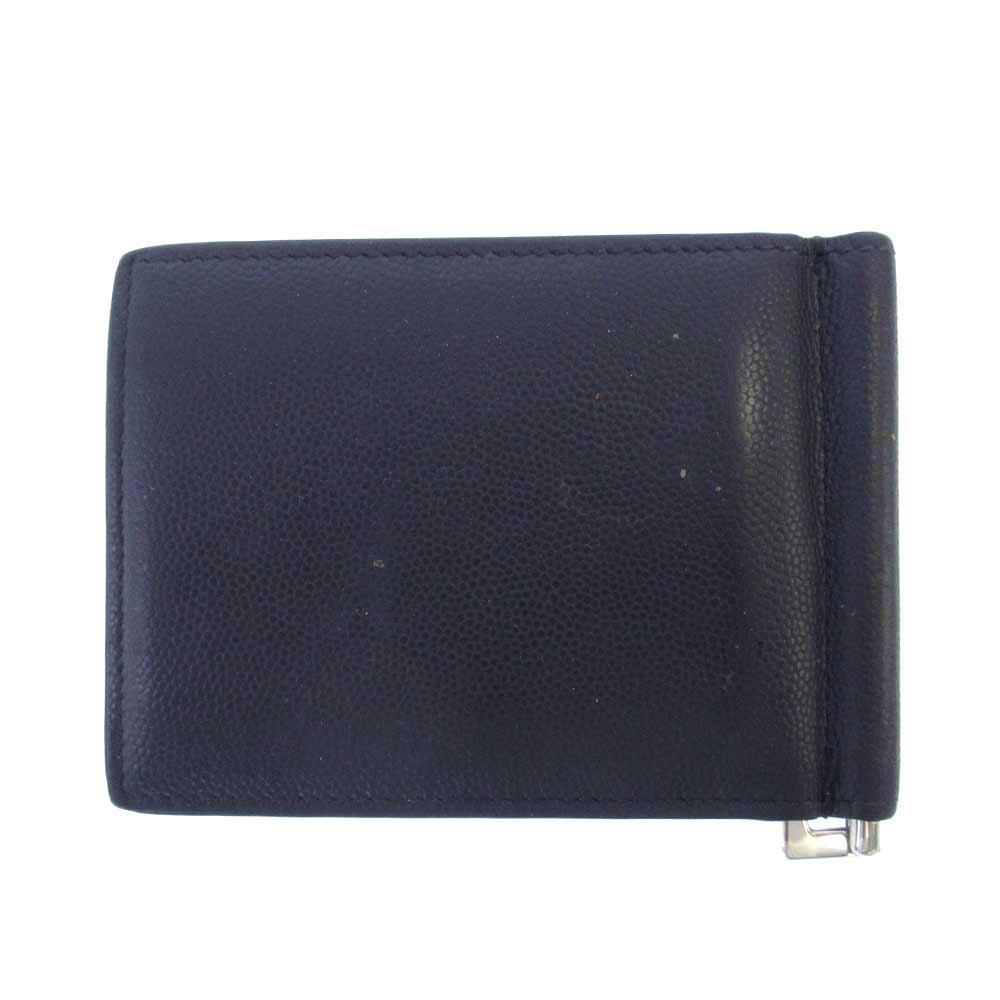 レザーマネークリップ 札入れ 財布