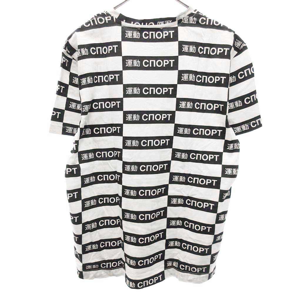 運動cnoptロゴ半袖Tシャツ