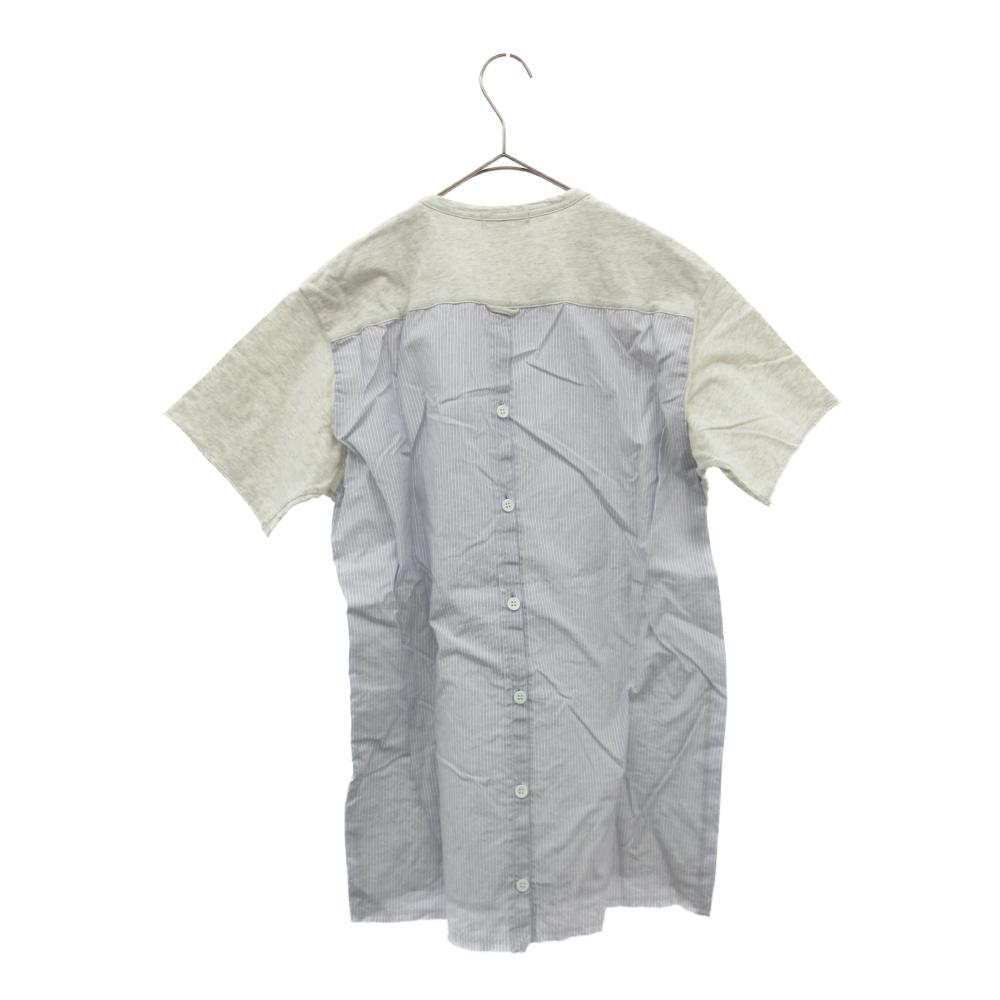 バックシャツ切替デザインTシャツ