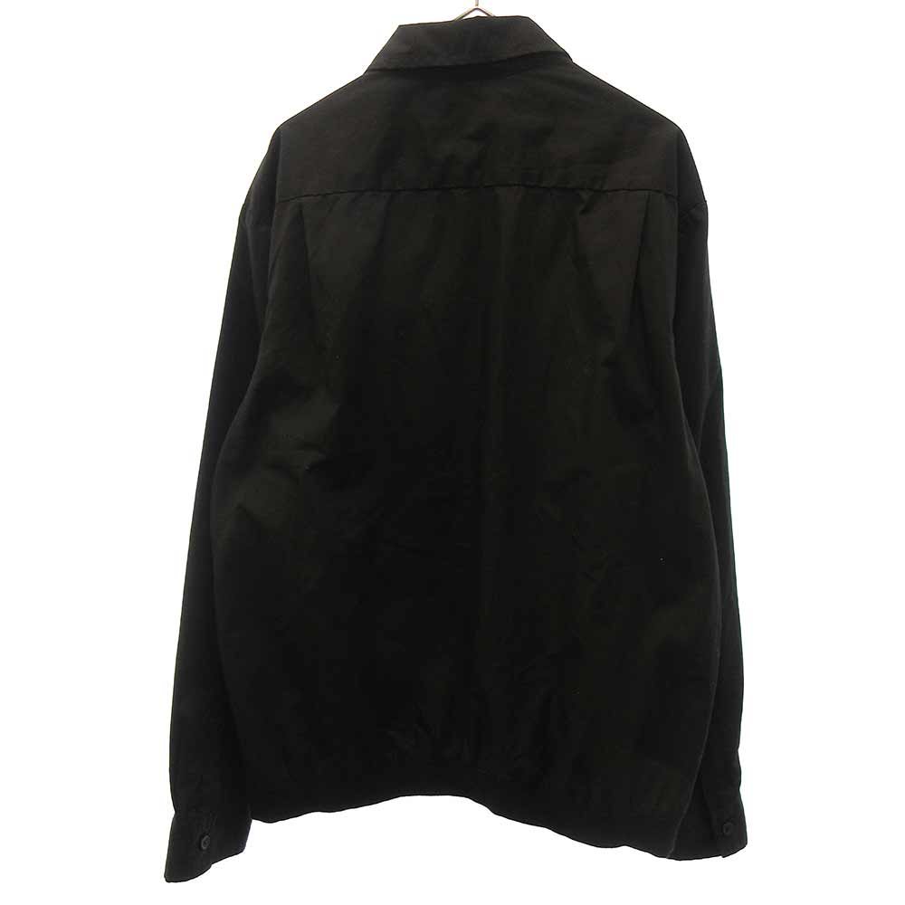 Pin Tuck Zip Up Shirt 長袖シャツ