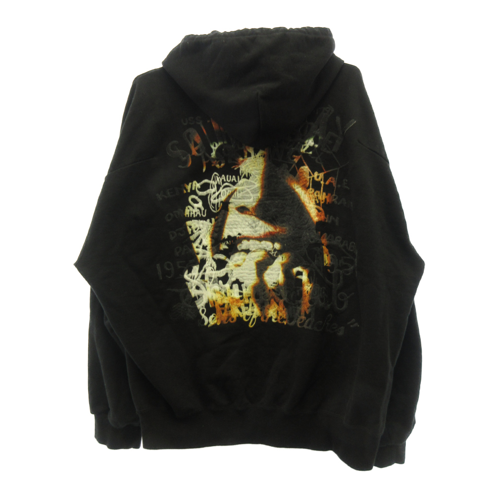 HORROR EMBROIDERY HOODIE パーカー