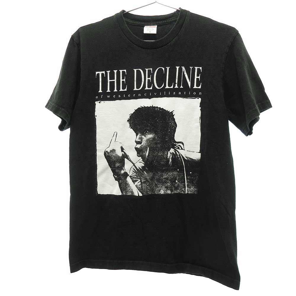 Decline of Western Civilization Tee デックラインオブウエスタン シヴィライゼーション フロントプリント半袖Tシャツ