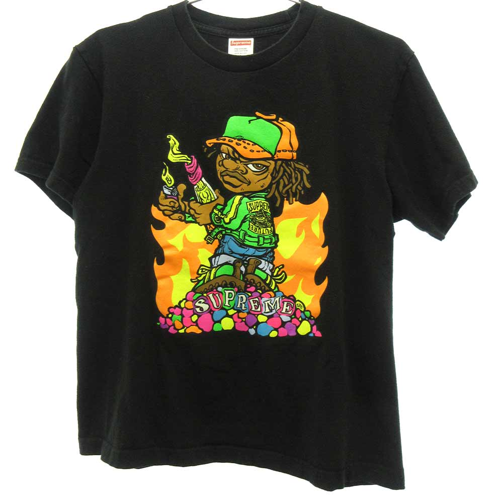 Molotov Kid Tee フロントプリント半袖Tシャツ