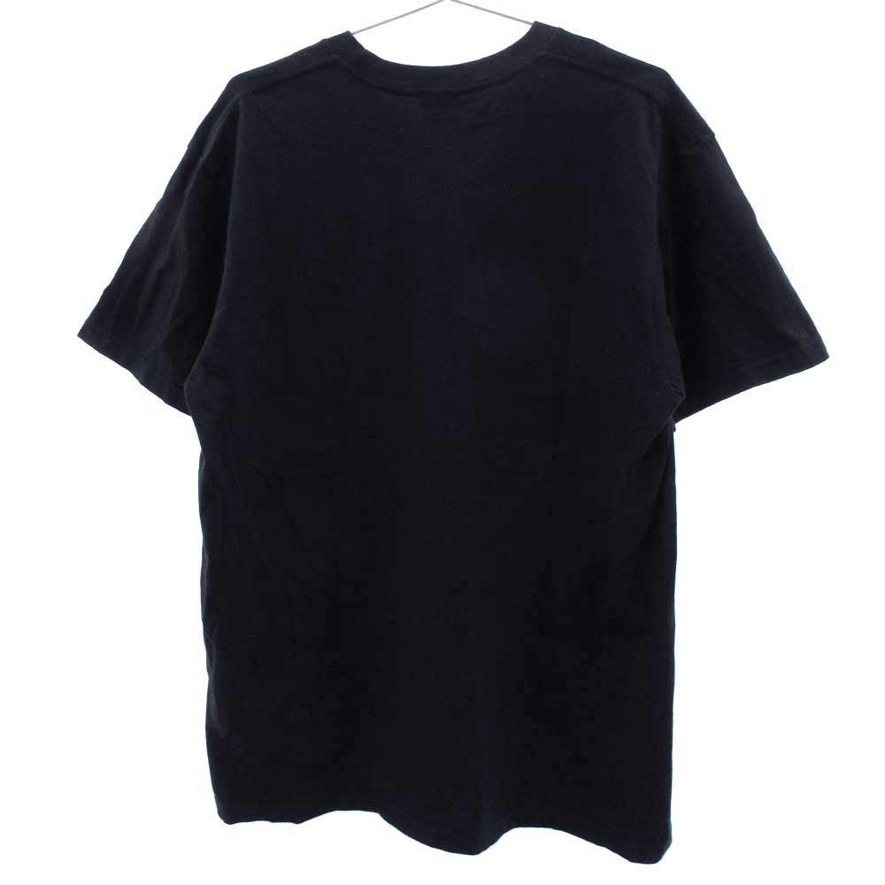 Smoke Teeスモールロゴプリント半袖Tシャツ