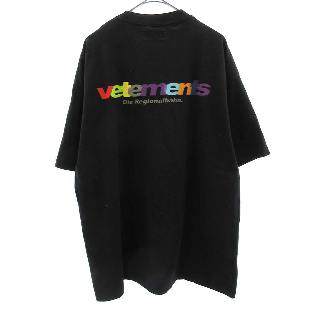18SSカラーロゴ半袖プリントTシャツ