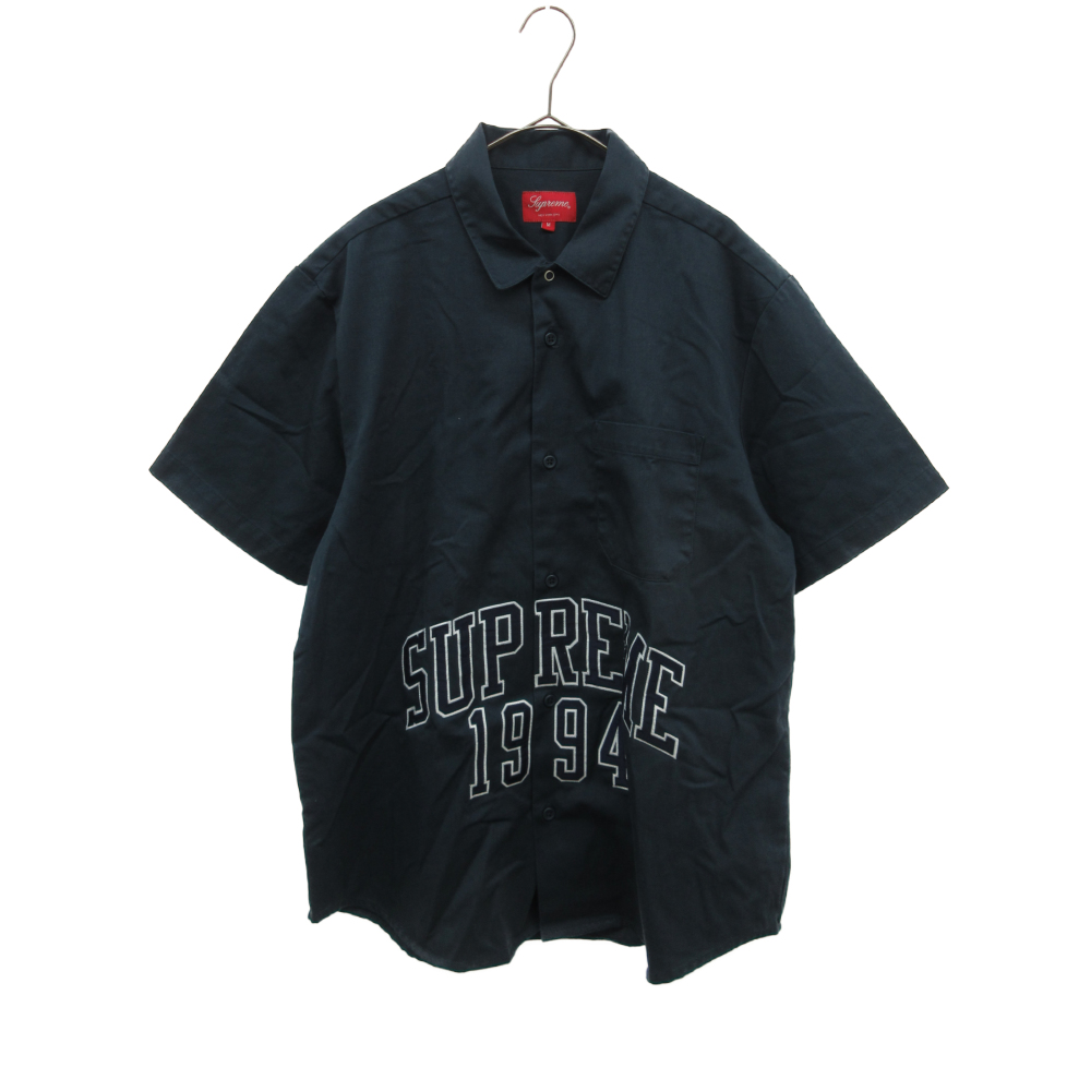 Arc Logo S/S Work Shirt アーチロゴショートスリーブワーク半袖シャツ