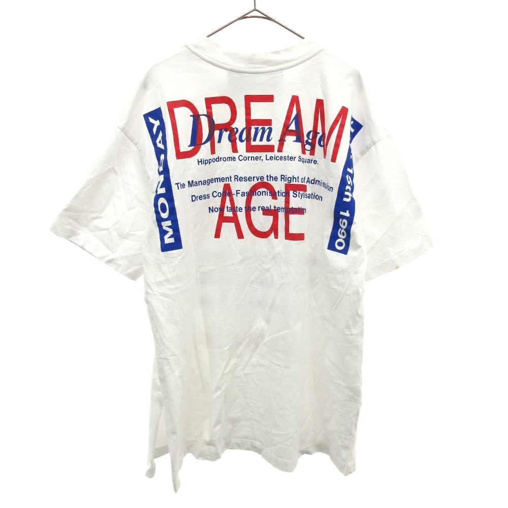 PULL T-SHIRT S/S Dream Age ドリームエイジ総柄プリント半袖Tシャツ