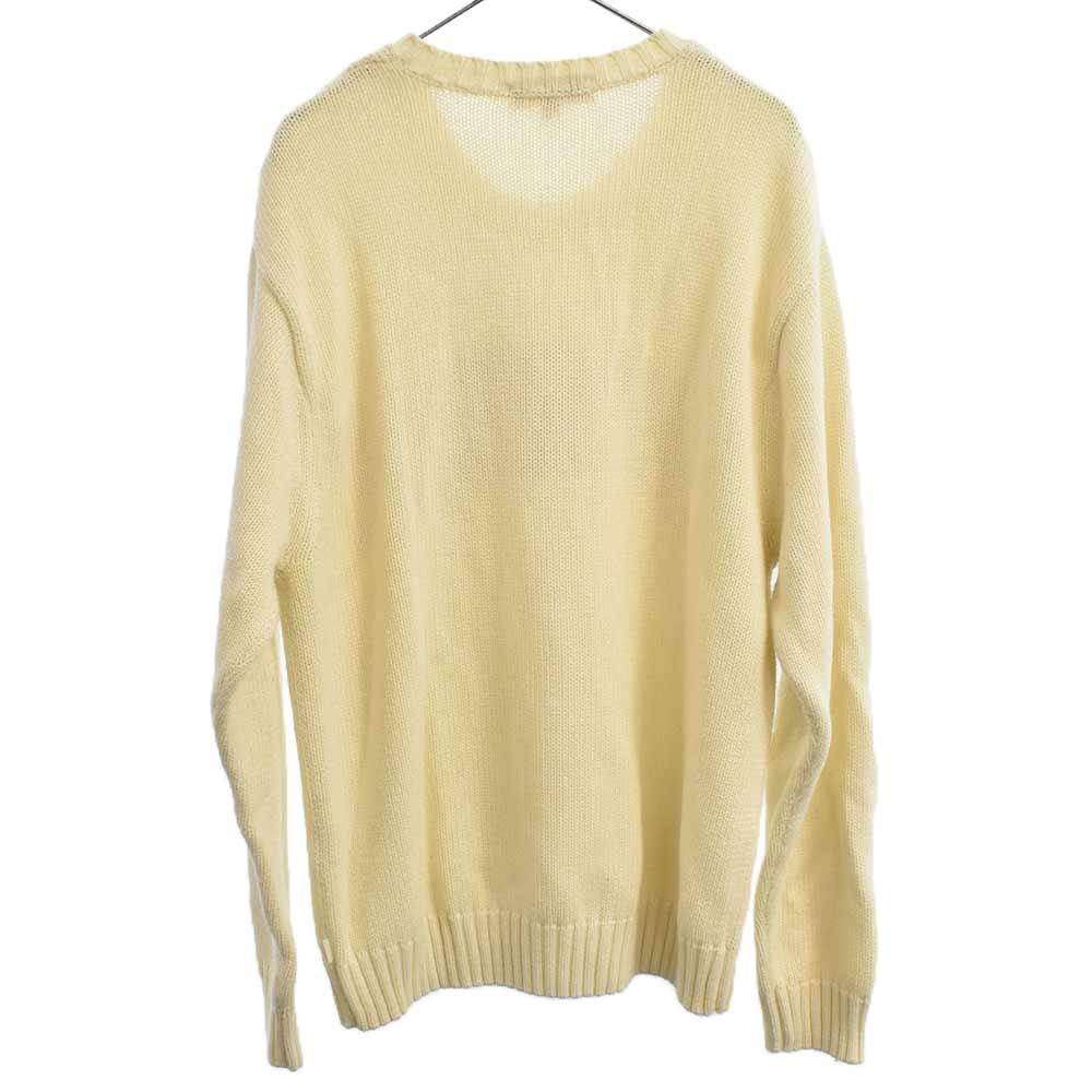 Tackle Twill Sweater アーチロゴコットンニットセーター