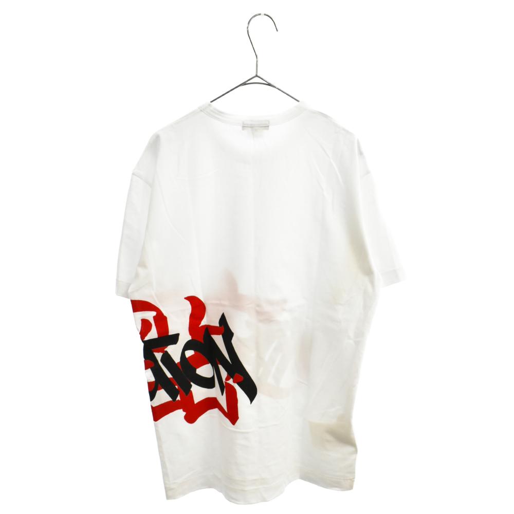 ×faust プリント半袖Tシャツ