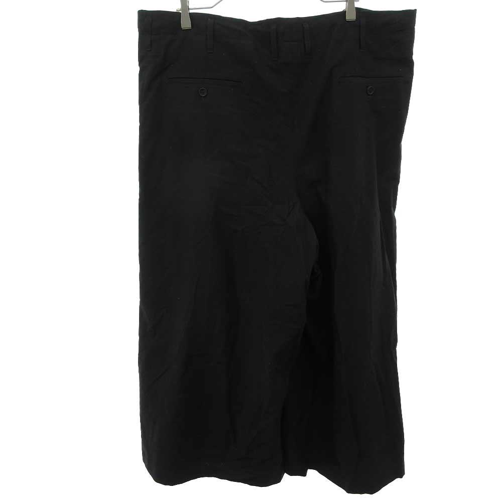 BLACK Scandal Cotton twill Skirt pantsスキャンダル コットンツイルスカートロングパンツ