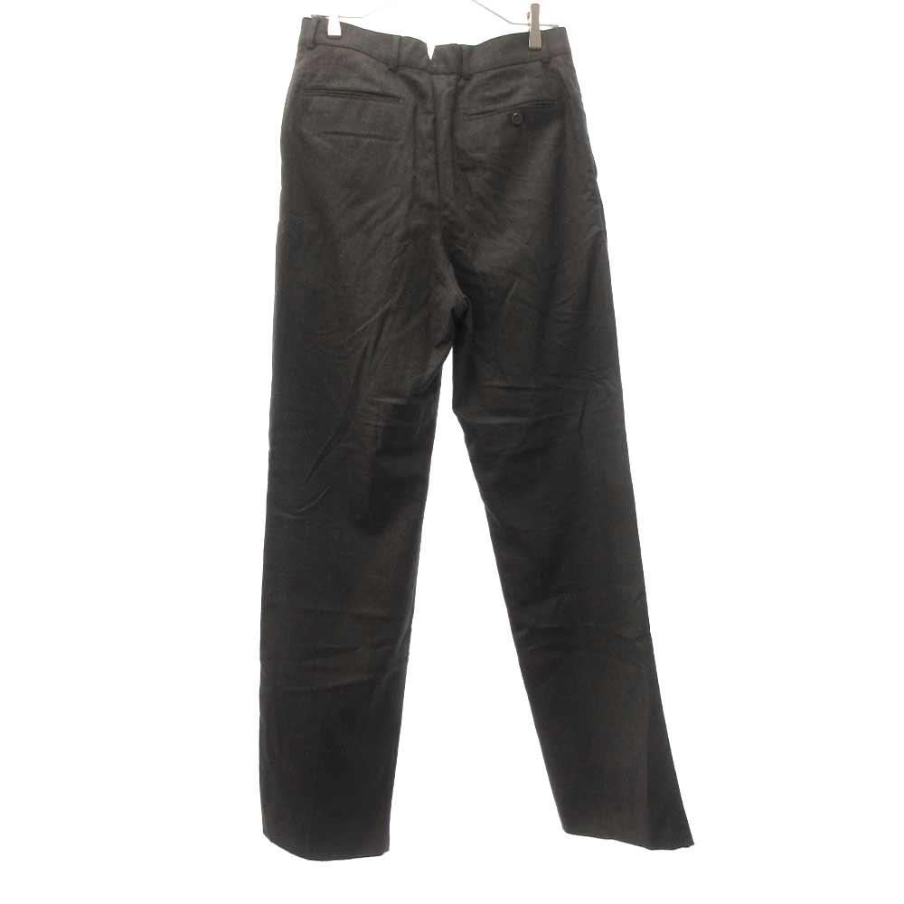 WOOL STRAIGHT PANTS ウールストレートログパンツ