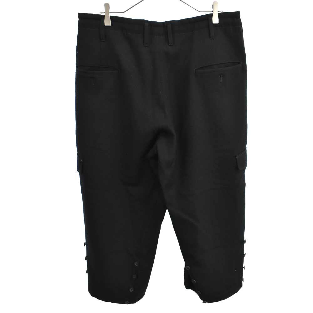 Wrinkled Gabardine Hem Adjusted Pants 裾アジャストジョッパーズカーゴパンツ