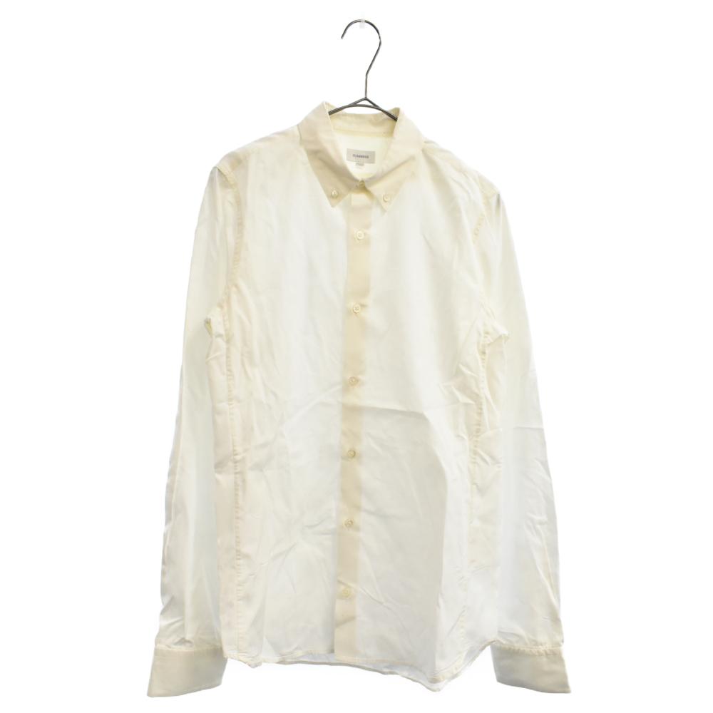 プレーン長袖ボタンダウンシャツ ワイシャツ