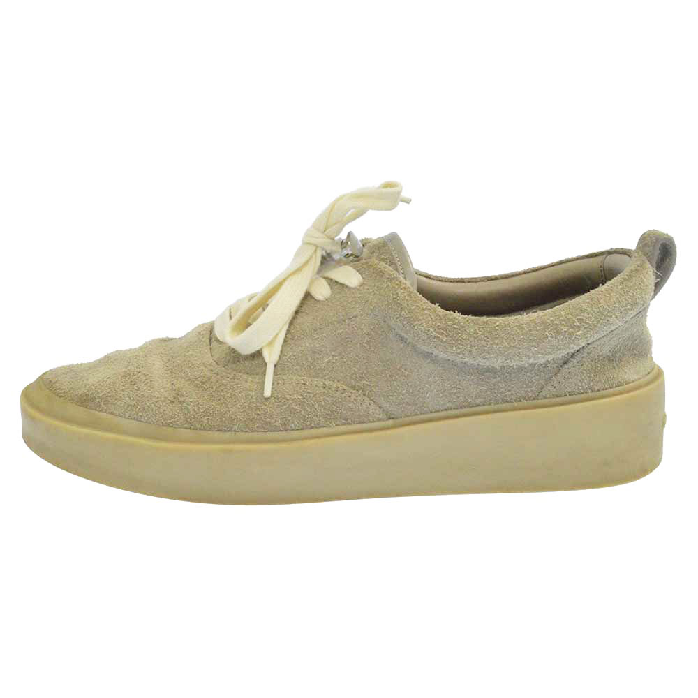 101 Lace Up Low Top Rough Suede Grey レースアップロートップラフスエード ローカットスニーカー