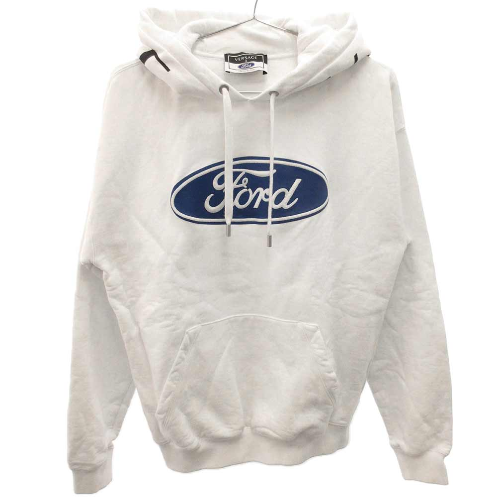 x Ford フォード フロントロゴ刺繍プルオーバーパーカー