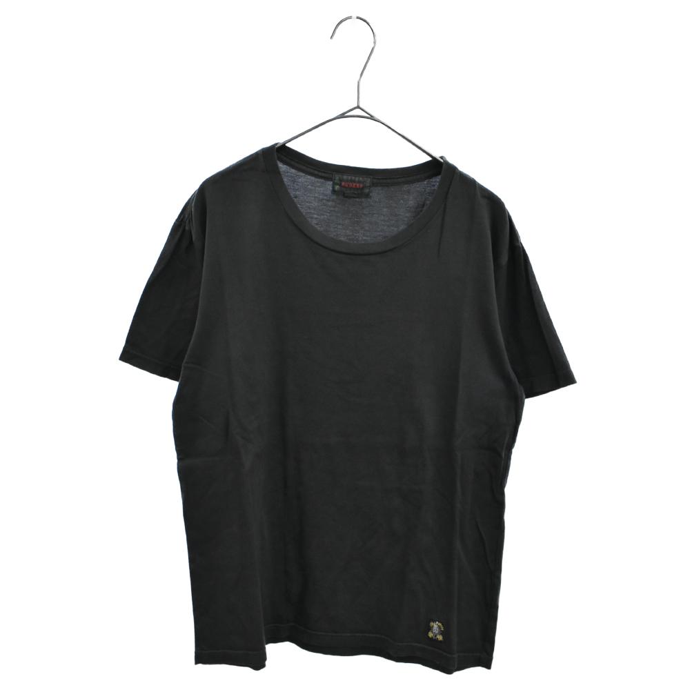 Fuckers バックスネークスカルロゴプリントクルーネック半袖Tシャツ