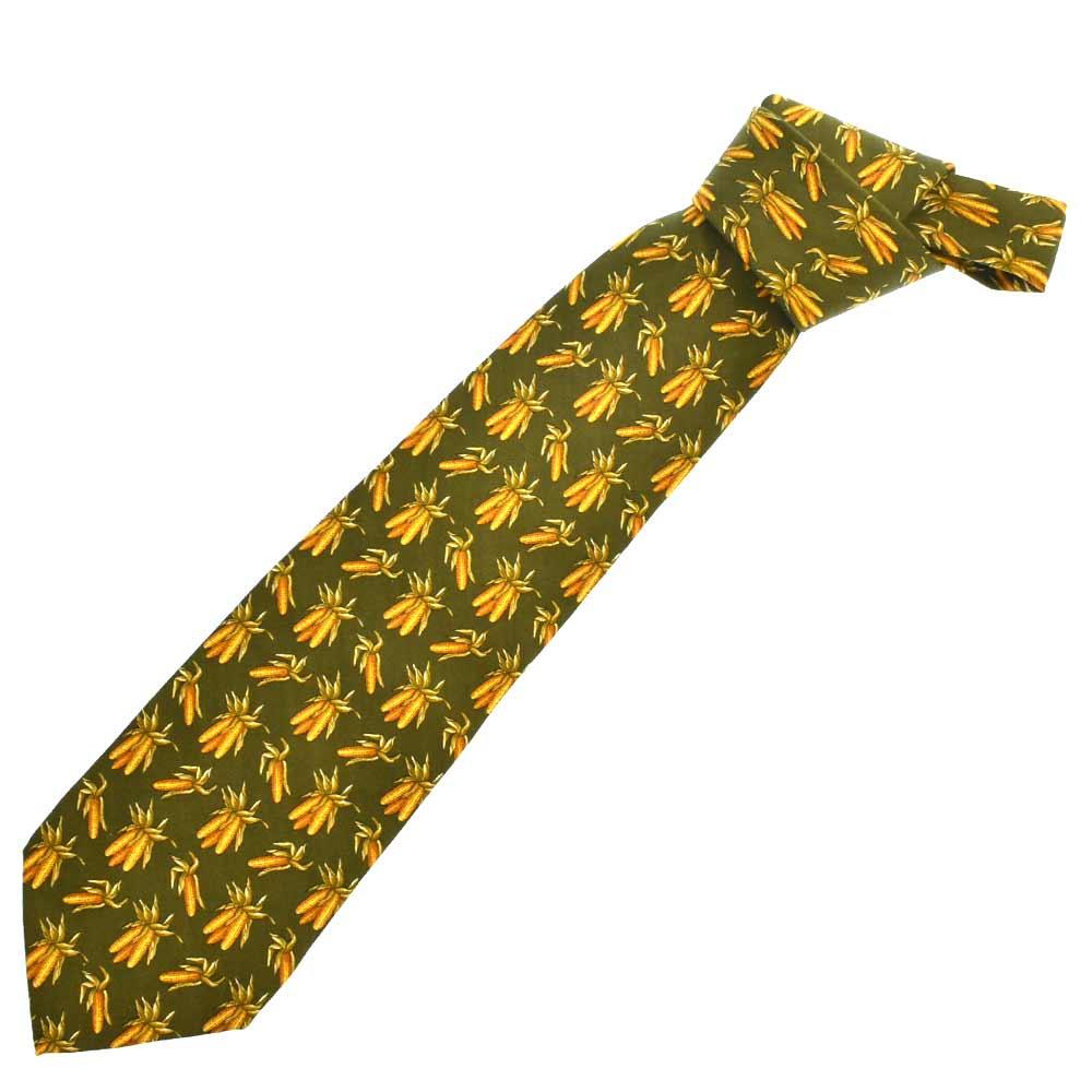 トロピカル柄ネクタイ 総柄