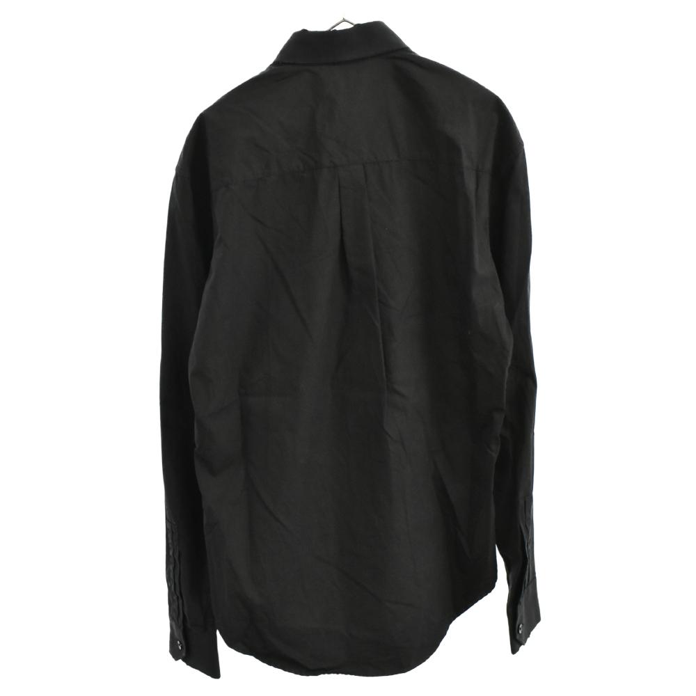 ダメージ加工長袖シャツ