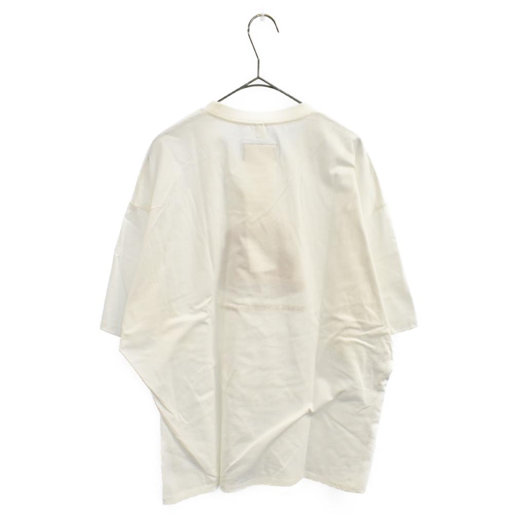 3D EMBROIDERY T-SHIRT フロントエンブロイダリー半袖Tシャツ