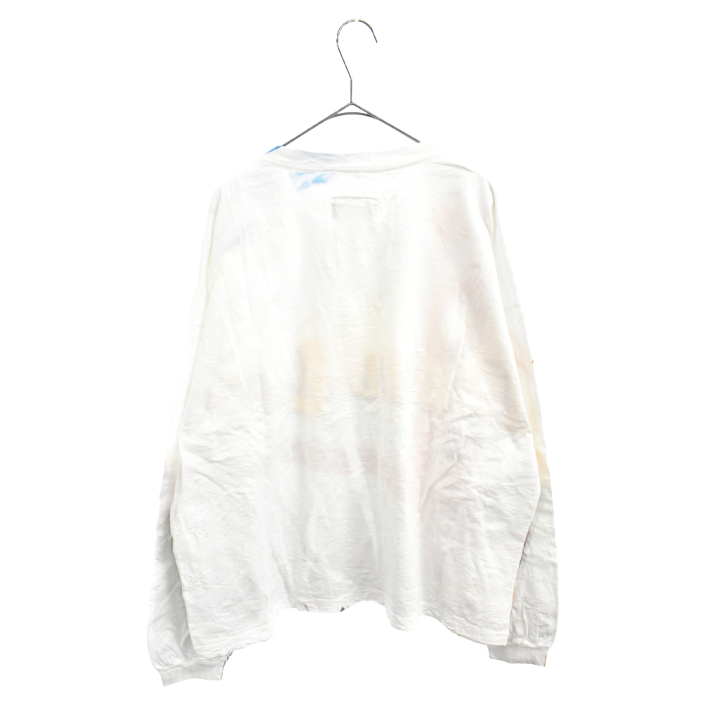 COMPRESSED LONG SLEEVE T-SHIRT グラフィックプリント長袖Tシャツ