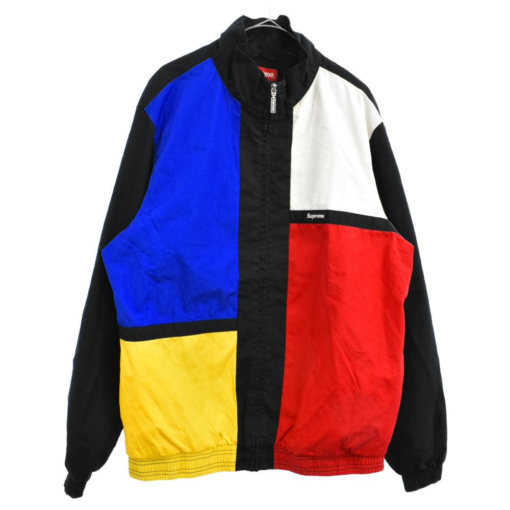 Color Blocked Track JKT ブロックカラートラックジャケット