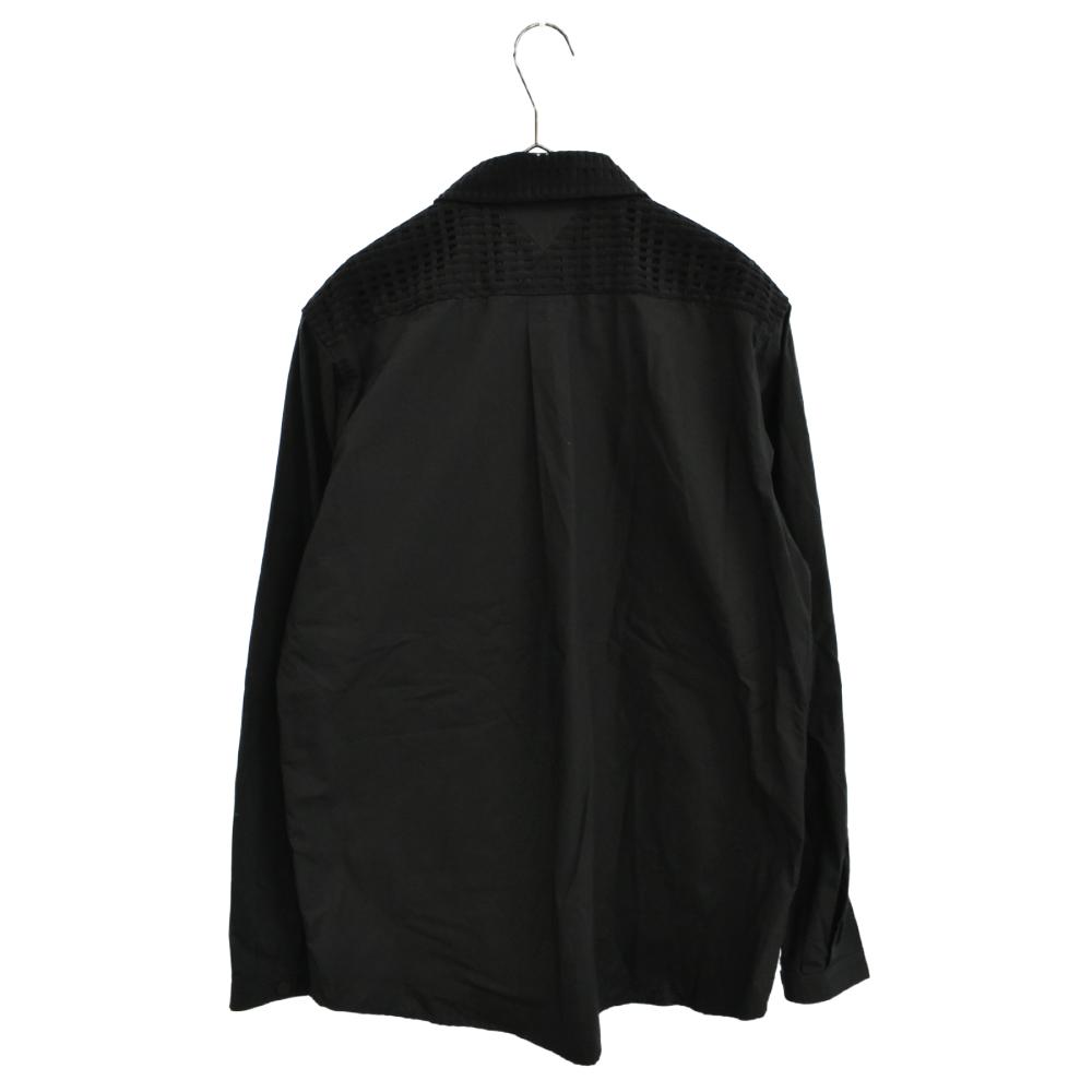 4ポケットベストドッキング長袖シャツ