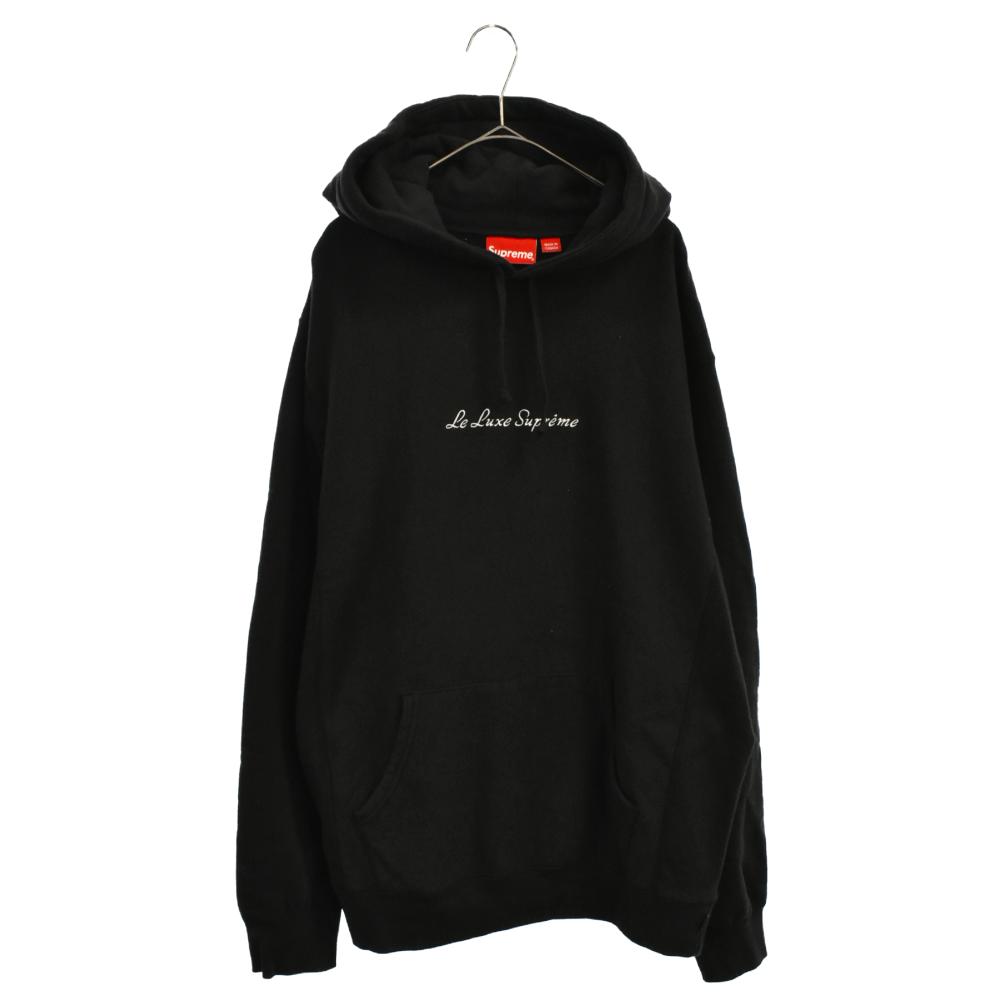 Le Luxe Hooded Sweatshirt リラックス プルオーバーパーカー