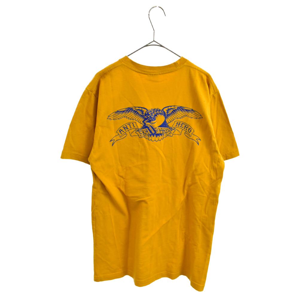 ×ANTIHERO Pocket Tee アンタイヒーローコラボ チェストポケット半袖Tシャツ