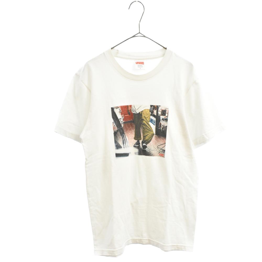 Jesus Christ Tee フォトプリント半袖Tシャツ